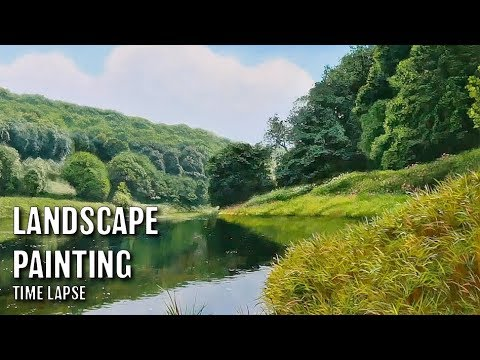 #126 Time Lapse Oil Painting with Michael James Smith