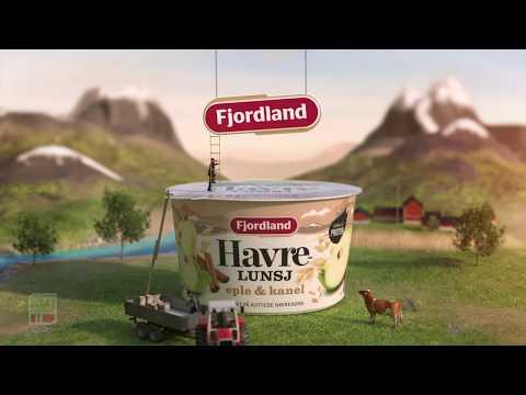 Nytt design! Fjordland Havrelunj eple & kanel