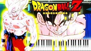 Dragon Ball Z - Goku Super Saiyan Theme (SSJ Transformation)   Piano Tutorial