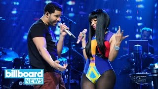 Watch Nicki Minaj Join Drake for First Live Performance of Remy Ma Diss 'No Frauds'| Billboard News