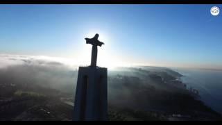 Cristo Rei - Lisboa - Portugal (by Drone)