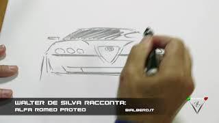Walter De Silva racconta: vi disegno l'Alfa Romeo Proteo