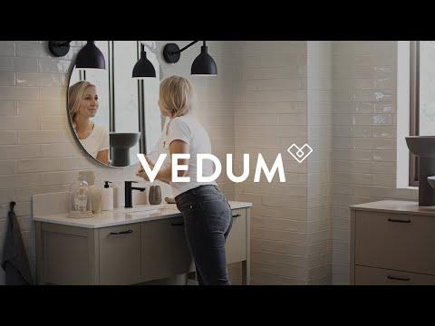 Vedum Kök & Bad - Badrumsserien Anno i sandbeige