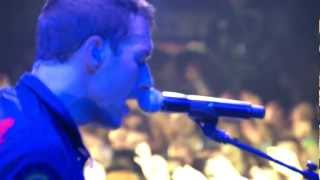 """COLDPLAY live """"LIFE IS FOR LIVING"""" - Lyrics - 1080p"""