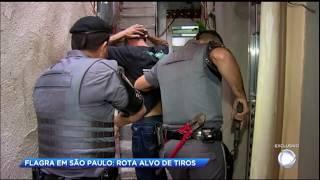 Rota é alvo de tiros durante operação em São Paulo