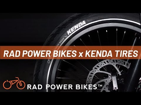 Rad Power Bikes x Kenda Tire: Ebike Tire Technology