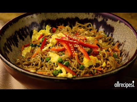 Family Friendly Recipes - How to Make Chinese Fried Noodles