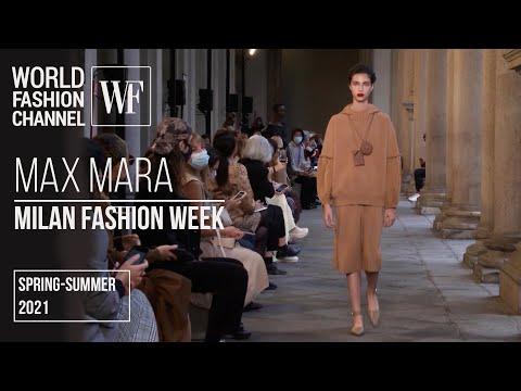 Max Mara spring-summer 2021 | Milan Fashion Week