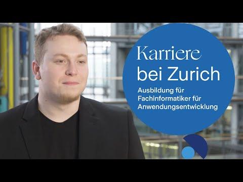 Karriere bei Zurich: Ausbildung für Fachinformatiker für Anwendungsentwicklung