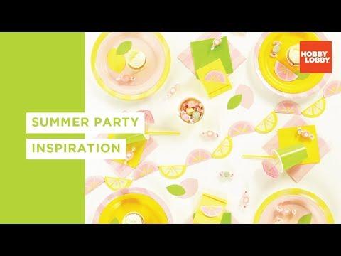 DIY Summer Party Decor & Inspiration | Hobby Lobby®
