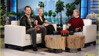 Chris Pratt e Jennifer Lawrence falam sobre as gravações de Passengers
