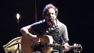 Eddie Vedder - ELDERLY WOMAN BEHIND THE COUNTER IN A SMALL TOWN @ Ohana Festival 08-27-16