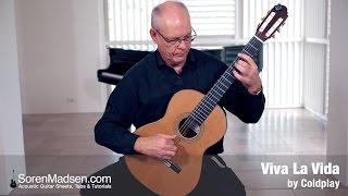 Viva La Vida by Coldplay - Danish Guitar Performance - Soren Madsen
