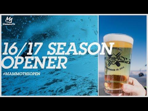 16/17 Season Opener || #MammothsOpen