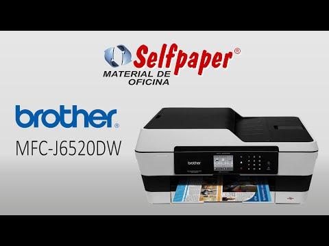 Brother MFC-J6520DW, video HD, selfpaper.com