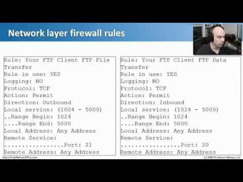 Network+ Ağ Güvenliği: 02. Güvenlik Duvarları.flv