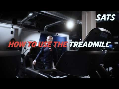 HOW TO USE THE TREAD MILL | NEW TO SATS