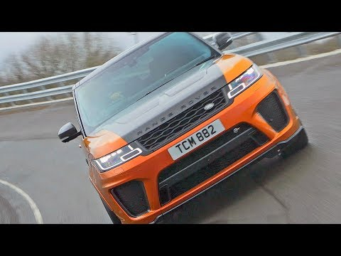 Range Rover Sport SVR (2018) HIGH-SPEED TEST