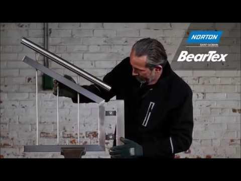 Préparation et finition de grandes surfaces grâce aux roues BearTex pour satineuse.