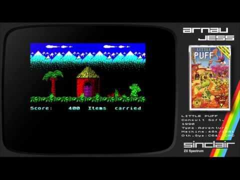 LITTLE PUFF Zx Spectrum by Codemasters