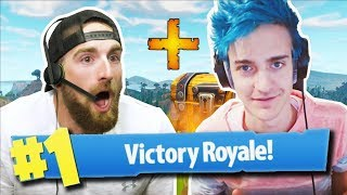 Fortnite with Ninja | Dude Perfect width=