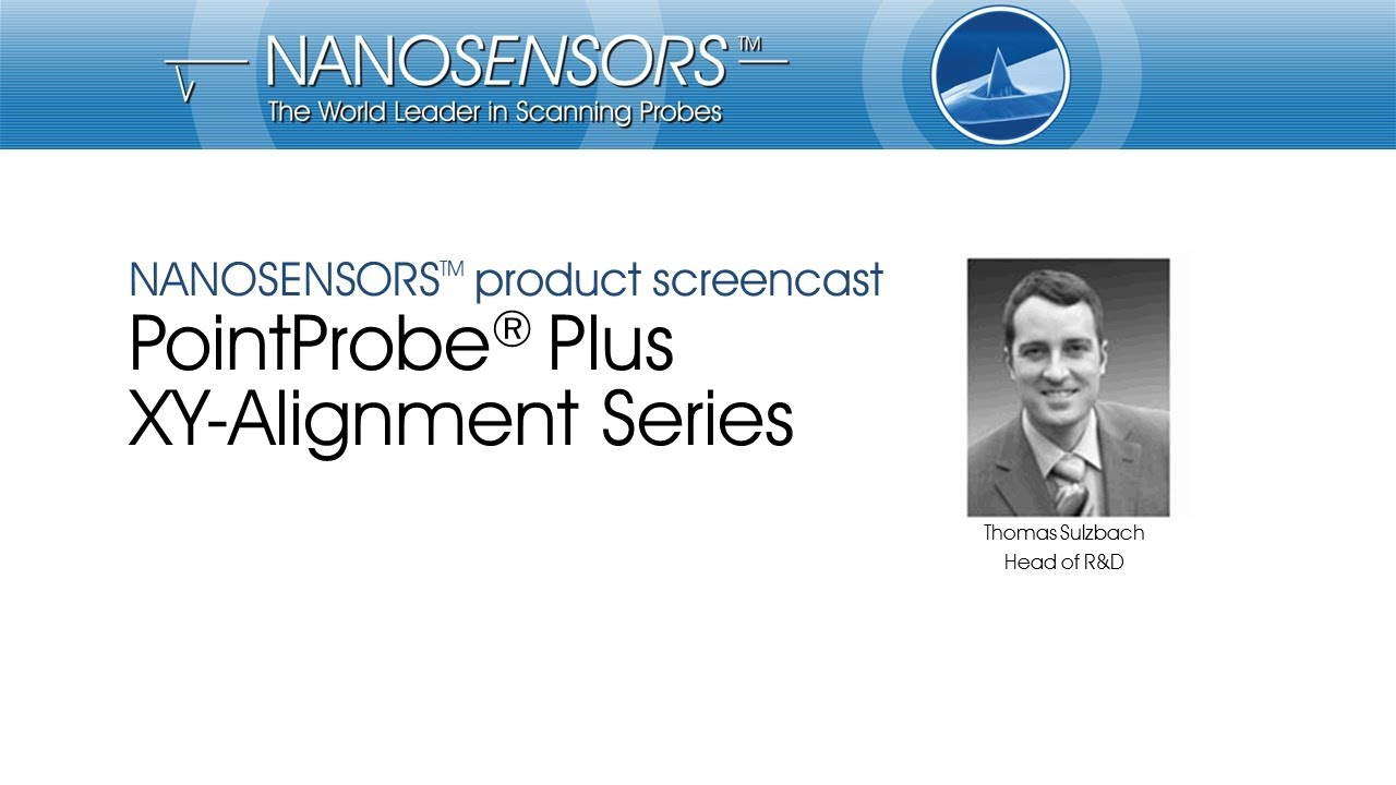 NANOSENSORS™ XY-Alignment Series thumb