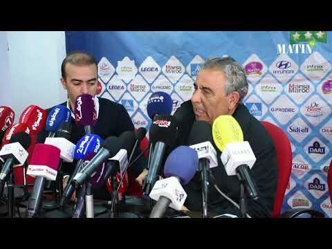 Video : Derby Raja WAC: Les entraîneurs des deux équipes livrent leurs impressions