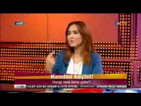 Renk analizi, kime ne renk yakışır- 1.Bölüm NTV Haftasonu 14 Nisan 2013