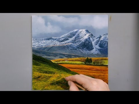 #121 How I Paint Mountains | Oil Painting