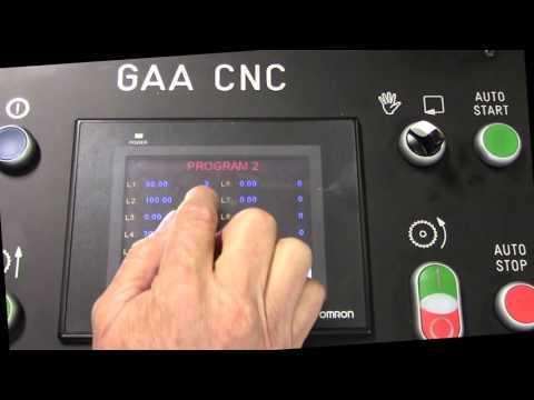 Scotchman Control & Programming Demonstration for GAA-600 CNC - Upcut Non-Ferrous Circular Cold Saw