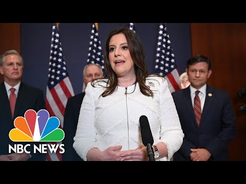 Stefanik Thanks Trump After Being Elected House GOP Conference Chair