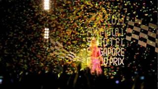 Shakira - Waka Waka Live at F1 Singapore 2011