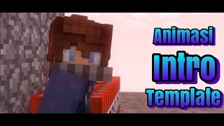 Intro Animasi Minecraft - Intro Template Free Download #1