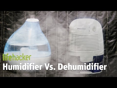 Humidifier VS. Dehumidifier