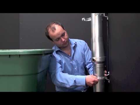 Montáž samočinného odvaděče vody