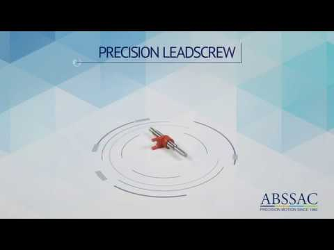 ABSSAC 2020 Precision Leadscrew and nuts