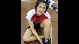ภาพหลุด ปลื้มจิตร์ ถินขาว นั��ีฬาวอลเล่ย์บอลห�ิง ทีมชาติไทย