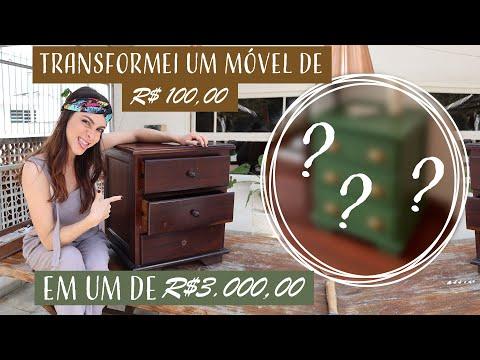 DIY Mesinha de Cabeceira Vintage!! - Do Flop ao Top!