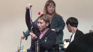 170419 BTOB 팝업스토어 3차 팬싸인회 은광이 이쁜짓 (Feat.우쭈쭈민혁)
