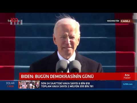 Joe Biden, ilk başkanlık konuşmasını yaptı