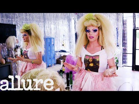 Drag Superstar Willam's Glamorous Dressing Room Tour   Allure