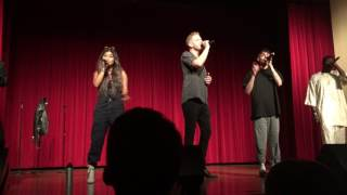 "Pentatonix performing ""Boogie Woogie Bugle Boy"" LIVE (for the first time ever)"