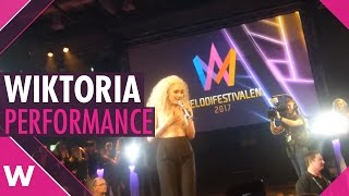 """Wiktoria """"As I Lay Me Down"""" - LIVE @ Melodifestivalen 2017 After Party"""