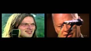 Pink Floyd / David Gilmour - Echoes Live Pompeii Split-Screen