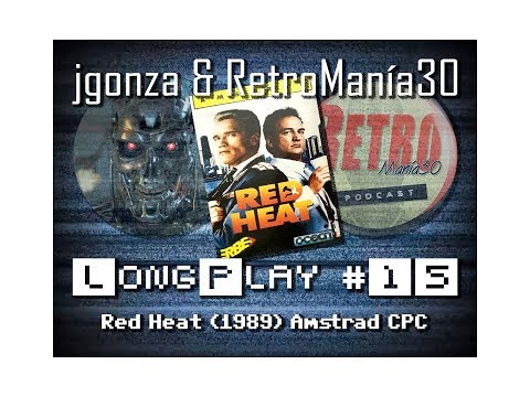 Red Heat - Amstrad CPC Longplay