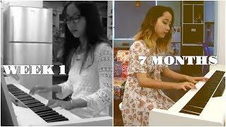 Adult Beginner Pianist - 7 month piano progress