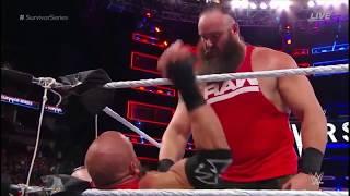 Braun Strowman Attacks Triple H | Survivor Series 2017