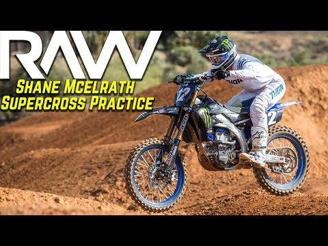 Shane McElrath Supercross Practice RAW - Motocross Action Magazine