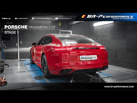 Porsche Panamera 2.9T E-Hybrid / Stage 1 By BR-Performance