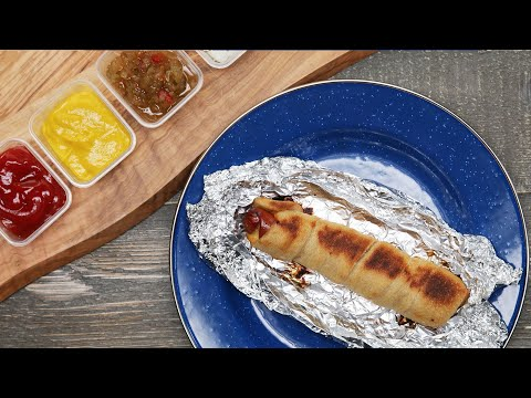 A Hot Dog Recipe That Will Make Camping A Breeze ? Tasty
